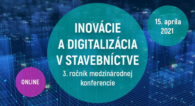 Konferencia BIM a digitalizácia v stavebníctve