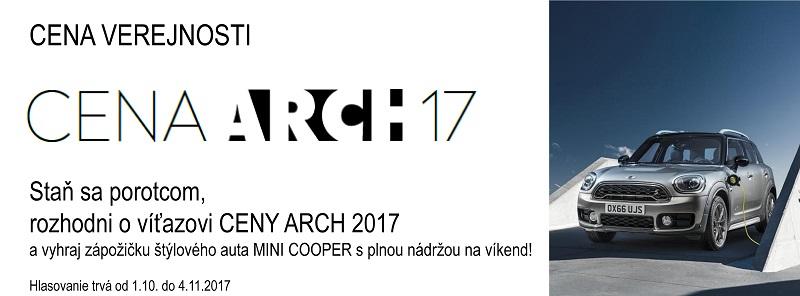 Cena verejnosti CENA ARCH 2017