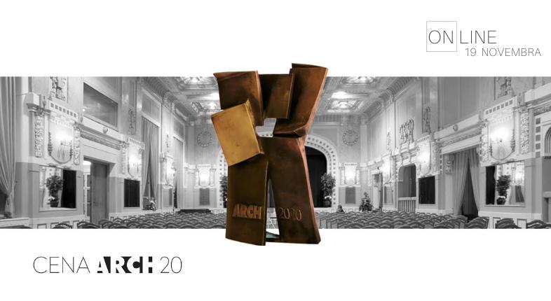 Cena Arch 2020 ONLINE