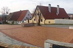 Úprava námestia - Habánsky dvor, Veľké Leváre