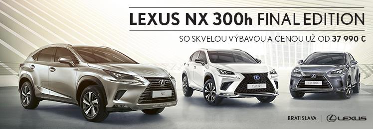 LEXUS NX 300h FINAL EDITION