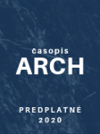 Celoročné predplatné digitalizovanej verzie ARCH 2020