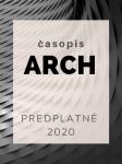 Celoročné predplatné časopis ARCH ročník 2020