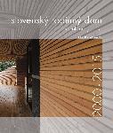 Slovenský rodinný dom 2000 - 2015