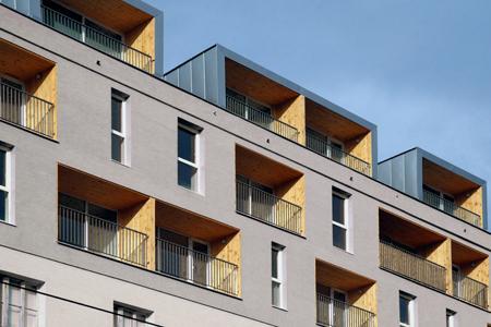 Nadstavba bytového domu, Bratislava